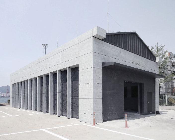 工厂油漆仓库