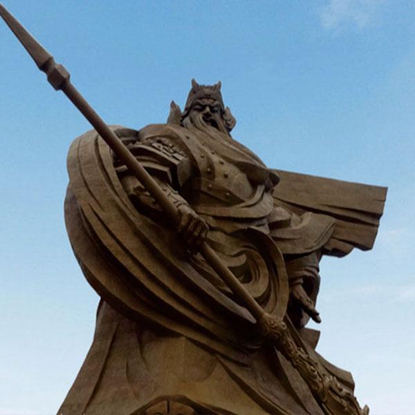 荆州关公圣像基座外装饰幕墙